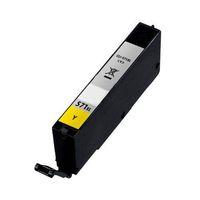 Druckerpatrone passend für Canon 0388C001 CLI-571Y Tintenpatrone gelb, 347 Seiten, Inhalt 7 ml für Pixma MG 5700 Series/5750 Ser für Pixma TS 5000 Series