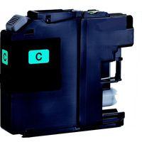 Druckerpatrone passend für Toner passend für Brother LC125XLC Tintenpatrone cyan, mit CHIP 1.200 Seiten für DCP-J 4110 W/MFC-J 4 für MFC-J 6720 DW