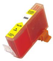 Tintenpatrone passend für Canon 4708A002 BCI-6Y yellow