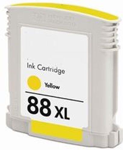 Tintenpatrone f. HP C9393AE 88 yellow High-Capacity für Officejet PRO L 7828