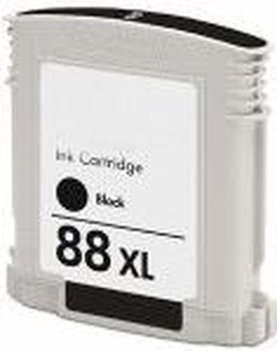 Tintenpatrone f. HP C9396AE 88 schwarz High-Capacity für Officejet PRO L 7828