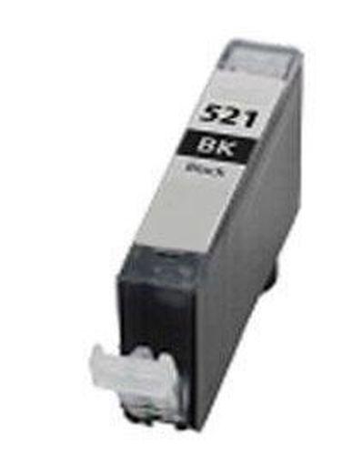 Neutral - kompatible Tintenpatrone passend für Canon 2933B001 CLI-521BK ohne Chip schwarz  für Pixma MP 540