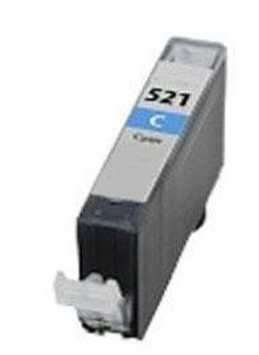 Neutral - kompatible Tintenpatrone passend für Canon 2934B001 CLI-521C ohne Chip cyan  für Pixma MP 540
