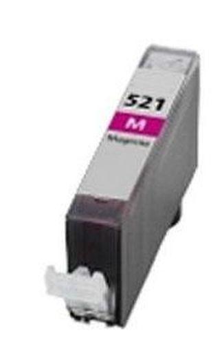Neutral - kompatible Tintenpatrone passend für Canon 2935B001 CLI-521M ohne Chip magenta  für Pixma MP 540