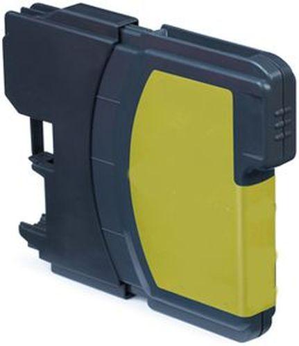 Neutral - kompatible Tintenpatrone passend für Brother LC1100Y yellow für MFC-795 CW