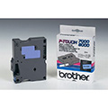 Brother Original DirectLabel schwarz auf blau TX531