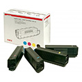 OKI Original Toner Value-Kit (Bk,C,M,Y) 42403002